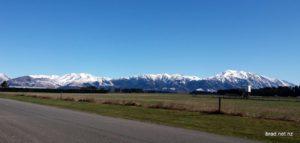 Mt Hutt from Methven