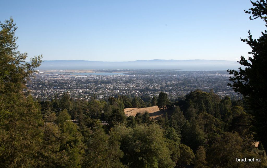San Francisco Bay Area from Joaquin Miller Park